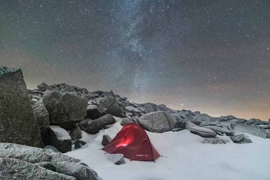 wild camping snowdon